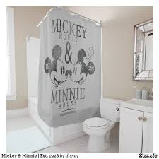 Mickey And Minnie Curtains by Mickey U0026 Minnie Shower Curtain Would Look Great In A Vintage