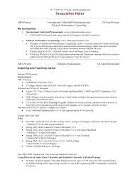 Football Coaching Resume Samples by High Basketball Coach Resume Samples