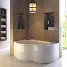 corner bath showers destroybmx com estuary 1500mm x 1000mm corner bath panel left hand image 1