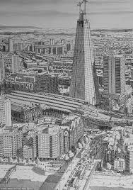 trip down memory line artist draws incredibly detailed pictures