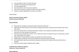 Sample Resume Of Health Care Aide by Best Care Aide Resume Gallery Simple Resume Office Templates