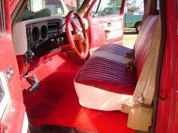 Ostrich Upholstery 1976 Chevy Truck Treutlen Upholstery