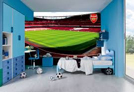 football team wall murals arsenal emirates stadium 3