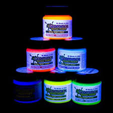 glow in the paint glominex ah921 glow in the and paint