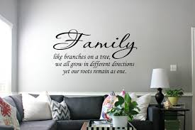 family wall decals wall decal wall art decal sticker family like branches wall art decal sticker family wall decals