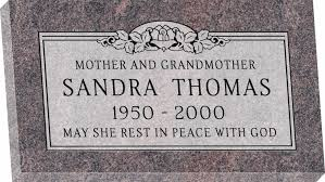 granite headstones 28 x 16 x 3 flat granite headstone honor