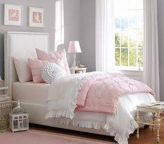 Pink And Grey Girls Bedroom Absolutely Loving This Pink And Gray Palette This Wallpaper And