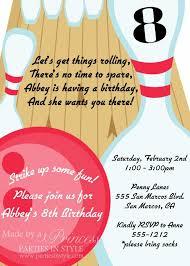 free bowling birthday invitations gallery invitation design ideas