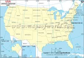 latitude map usa latitude and longitude map free printable esl tutoring tools