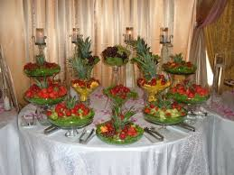 fruit table display ideas fruit buffet table ideas image collections table decoration ideas