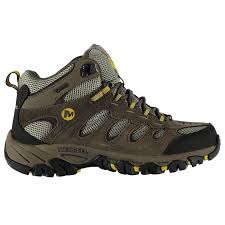 merrell womens boots uk merrell merrell ridgepass mid goretex mens walking boots mens
