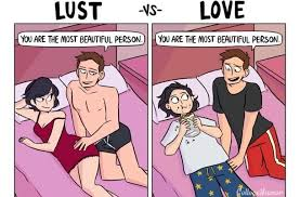 Meme For Love - the difference between lust love meme guy