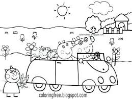peppa pig valentines coloring pages january 2018 nodal me
