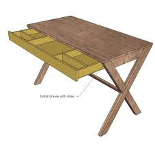 How To Make A Computer Out Of Wood by Best 25 Desk Plans Ideas On Pinterest Woodworking Desk Plans