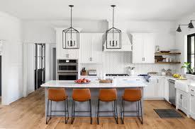 modern farmhouse kitchen cabinets white fall in with this custom modern farmhouse in