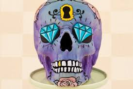 day of the dead wedding cake 12 dia de los muertos wedding cakes and toppers