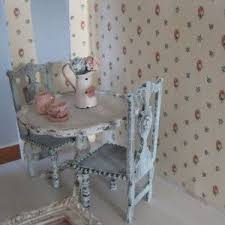 Shabby Chic Kitchen Table by Sweet Square Kitchen Table With Shabby Chic Style For Pretty Look