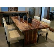 Homemade Dining Room Table Rustic Dining Room Table Sets Polished Rectangular Wooden Solid