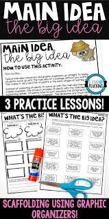 thanksgiving graphic organizer best 25 main idea lessons ideas on pinterest main idea
