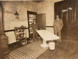 Funeral Home Interiors by Antique C1910 Black Owned Funeral Home Mortuary Interior Photo