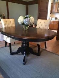 Refinished Dining Room Tables Oak Dining Table Dining Tables - Refinish dining room table