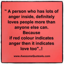 person lots anger loves
