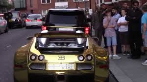 gold bugatti gold bugatti veyron u0026 range rover combo outside harrods youtube