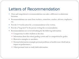 Brag Sheet Template For Letter Of Recommendation Mena Regional Recruitment Director Xavier