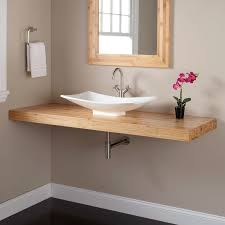 Narrow Bathroom Sinks And Vanities by Best 25 Vessel Sink Vanity Ideas On Pinterest Small Vessel