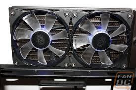 high cfm case fan cooler master jetflo 120 pwm fan lanoc reviews