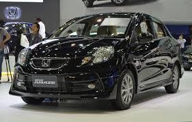 Honda Brio Launch Date Gallery Honda Brio Amaze With Modulo Add Ons