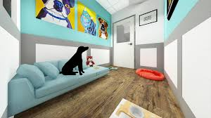 floor decor store matches town center project description jax the prototype includes vip rooms for dogs with plush beds and webcams so that owners can monitor their pets remotely