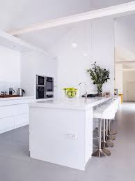 Open Plan Kitchen Flooring Ideas 14 Contemporary Kitchen Ideas Real Homes