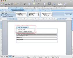 How To Do A Table Of Contents Authoring Techniques For Accessible Office Documents Word 2008