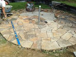 Average Cost Of Flagstone Patio by 2500 Of Alabama Flagstone Patio And Fire Pit Masonry Picture