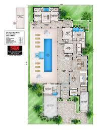 south florida designs courtyard contemporary floor plan