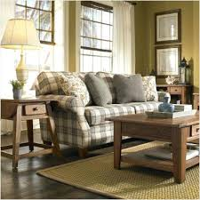 cozy livingroom astounding broyhill living room blue plaid sofa cottage sofa in