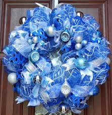 Christmas Decorations In White And Silver by Top 40 Blue And White Blue And Silver Christmas Decoration Ideas