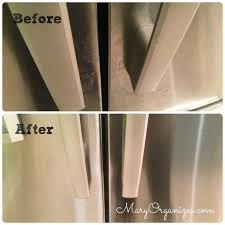 how i clean my stainless steel appliances creatingmaryshome com