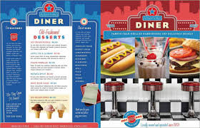 menu templates free pdf word documents download creative template
