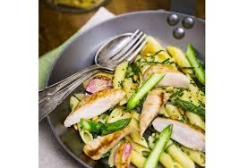 recette cuisine lapin recette de filets de lapin penne aux asperges herbes fraîches et