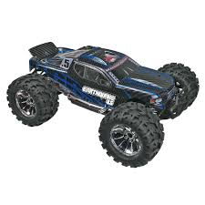 rc monster truck nitro redcat racing 1 8 earthquake 3 5 nitro 4wd rtr blue towerhobbies com