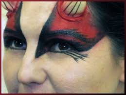 Devil Halloween Makeup Ideas by The Deviant Devil Scentsa