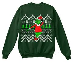 grinch christmas sweater dabbin grinch christmas sweater teespring caign