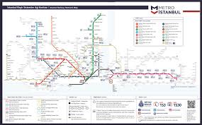 La Metro Rail Map Metro Istanbul