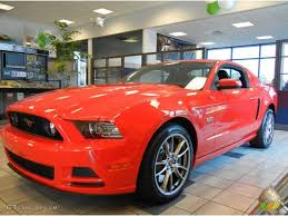 Blacked Out 2014 Mustang 2014 Race Red Ford Mustang Gt Premium Coupe 79813948 Gtcarlot