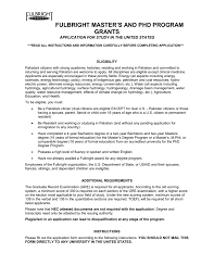 the fulbright application form 2016