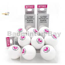 butterfly 3 g40 made in germany plastic table tennis ping