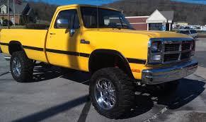 Dodge Ram Yellow - 1991 dodge ram 250 information and photos zombiedrive