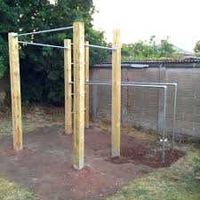 details about garden calisthenics outdoor gym pull up bars u0026 dip